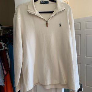 Cream Ralph Lauren sweater